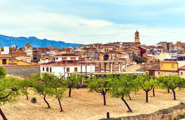El Pinell de Brai town. Province of Tarragona. Spain Stock photo © amok