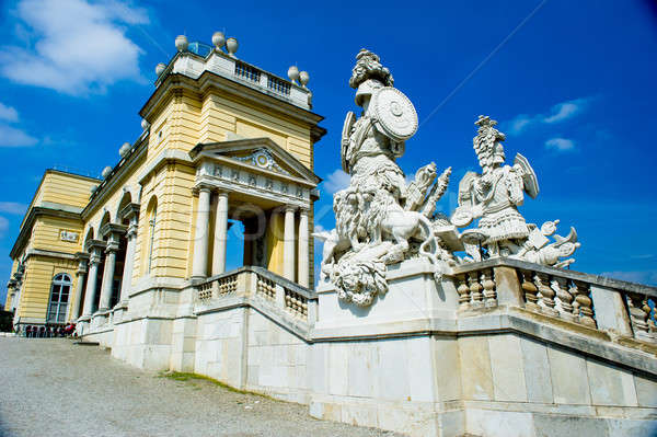 Schonbrunn Palace architecture details, Vienna Stock photo © amok