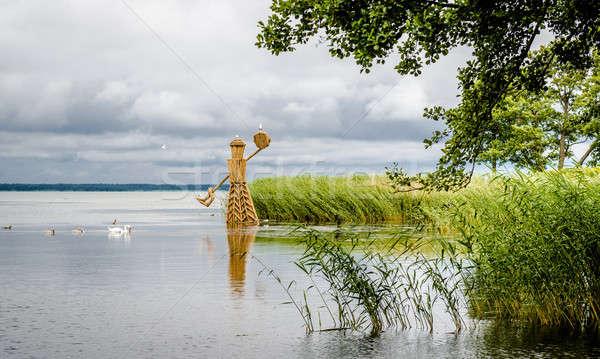 Summer view to the Curonian Lagoon. Neringa, Lithuania Stock photo © amok