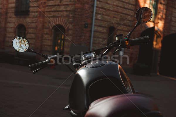 мотоцикл Открытый спорт дизайна велосипедов скорости Сток-фото © amok