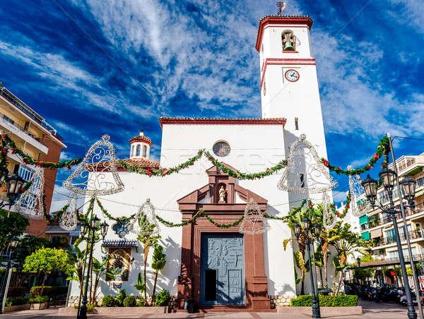 Catholic Church of Nuestra Senora del Rosario  Stock photo © amok