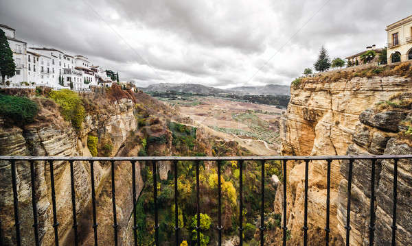 Picturesque view of Ronda city. Province of Malaga, Andalusia, S Stock photo © amok