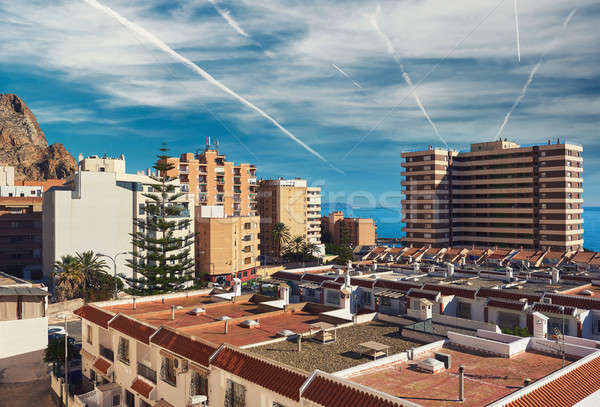 Aguadulce city. Spain Stock photo © amok