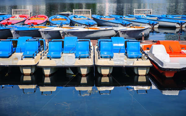 Barcos deporte verano viaje barco Foto stock © amok