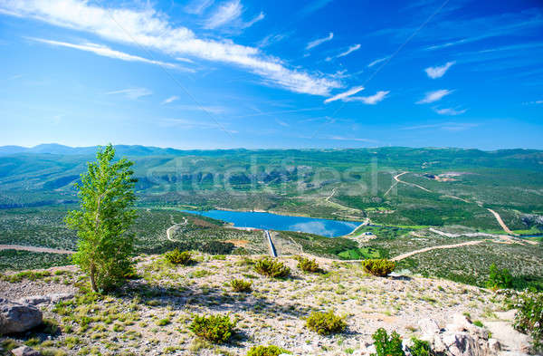 Breathtaking view in the Plitvice Lakes National Park. Croatia Stock photo © amok