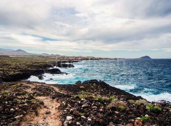 Picturesque nature of Tenerife. Canary Islands. Spain Stock photo © amok