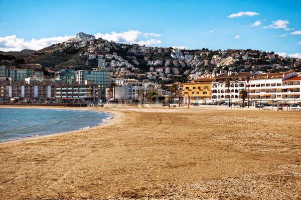 ビーチ コミュニティ 人気のある 観光 先 スペイン ストックフォト © amok
