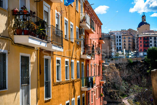 Alcoy city. Province of Alicante, Spain Stock photo © amok