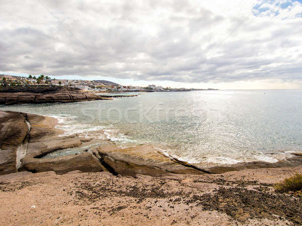 Picturesque view of El Duque beach Stock photo © amok