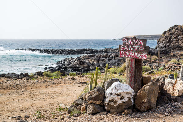 Santo Domingo beach. Tenerife, Canary Islands. Spain Stock photo © amok