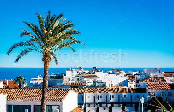 Крыши малага южный Испания дома город Сток-фото © amok