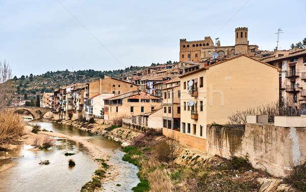 Köy İspanya bir güzel ev kentsel Stok fotoğraf © amok