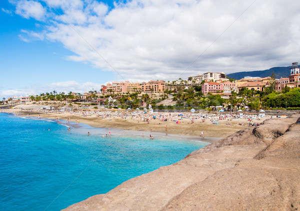 Pintoresco playa tenerife canarias España agua Foto stock © amok