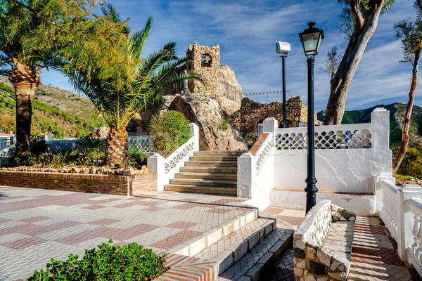 Shrine to the Virgin of the Rock in Mijas Stock photo © amok