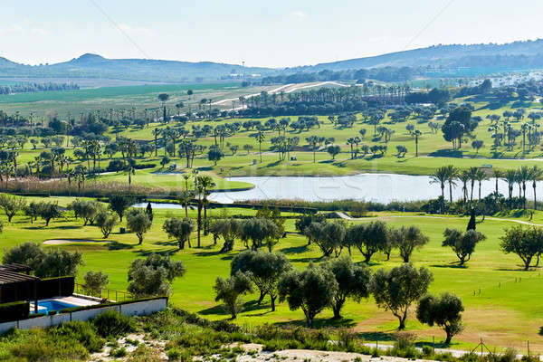 Typical golf club in Spain Stock photo © amok