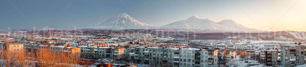 Petropavlovsk-Kamchatsky cityscape Stock photo © amok