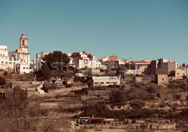 La Senia skyline, Spain Stock photo © amok