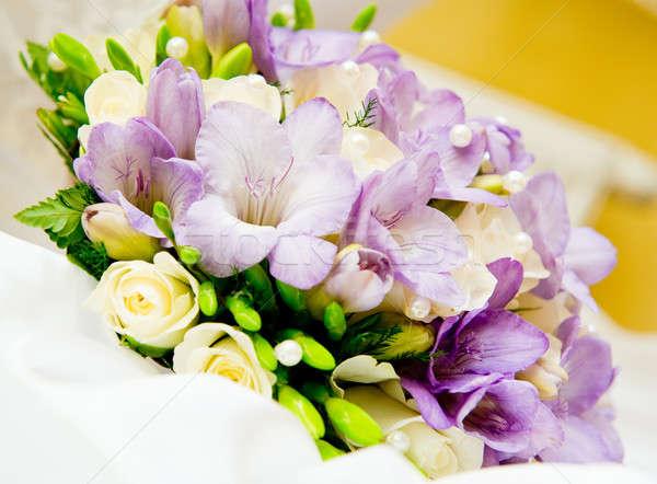 Beautiful bridal bouquet Stock photo © amok