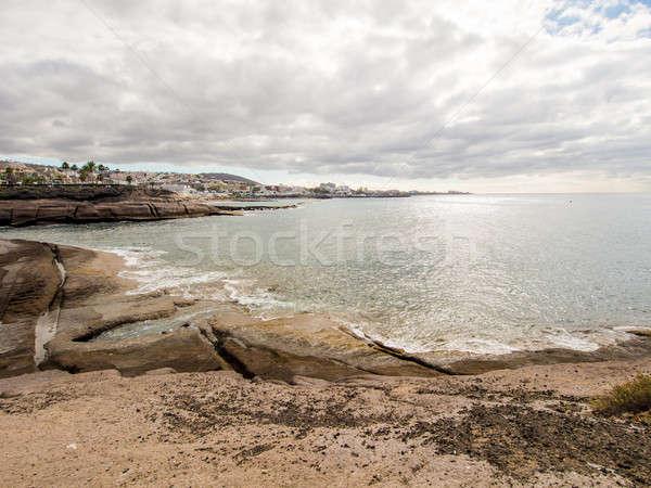 Pintoresco vista popular Resort tenerife canarias Foto stock © amok