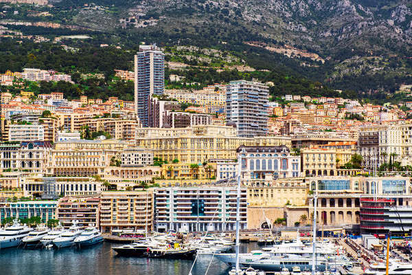 Port Hercules in the principality of Monaco Stock photo © amok