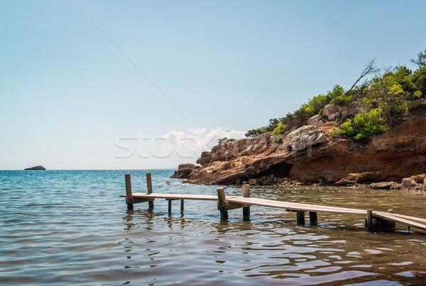 ヌーディスト ビーチ 島々 スペイン 空 砂 ストックフォト © amok