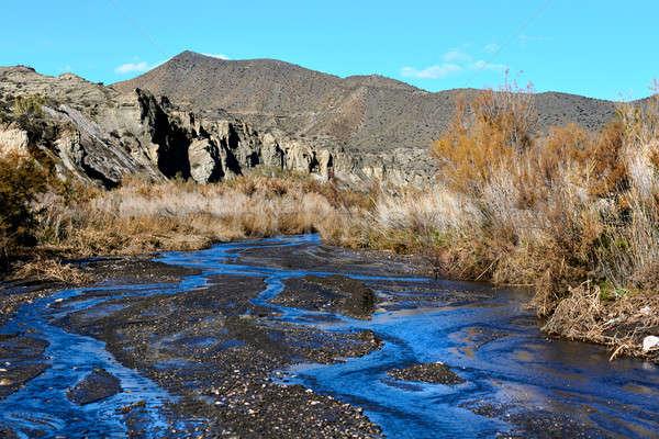 Stock photo: Tabernas Desert in Spain