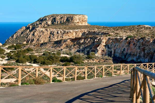 Stok fotoğraf: Doğal · park · İspanya · köşe · su