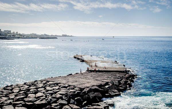 Peoples fishing  Stock photo © amok