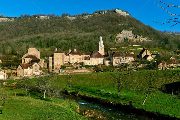 Baume-les-Messieurs village. France Stock photo © amok