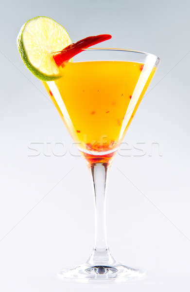 Suite cocktail over white background Stock photo © amok