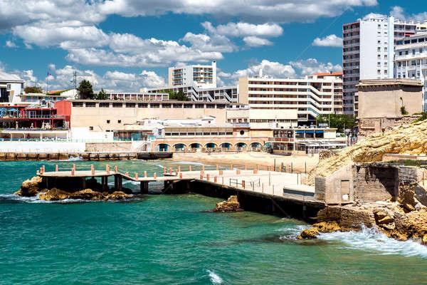 Marseille kust Frankrijk water natuur Stockfoto © amok