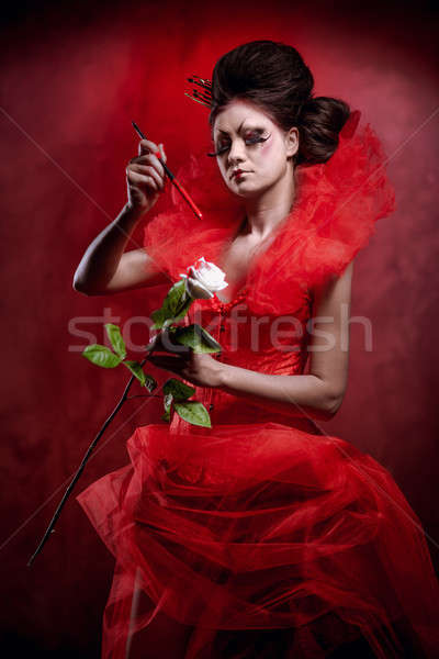 Red Queen Stock photo © amok