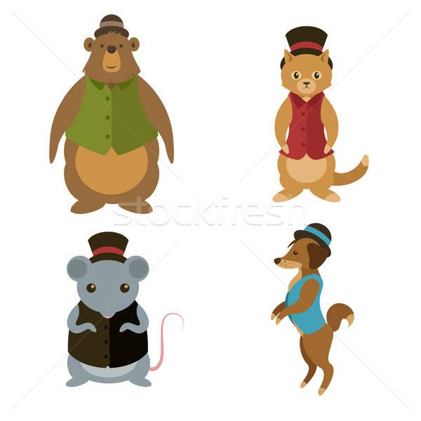 動物 ベクトル コレクション 犬 子供 ストックフォト © Amplion