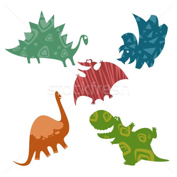Baby dinosaurs Stock photo © Amplion
