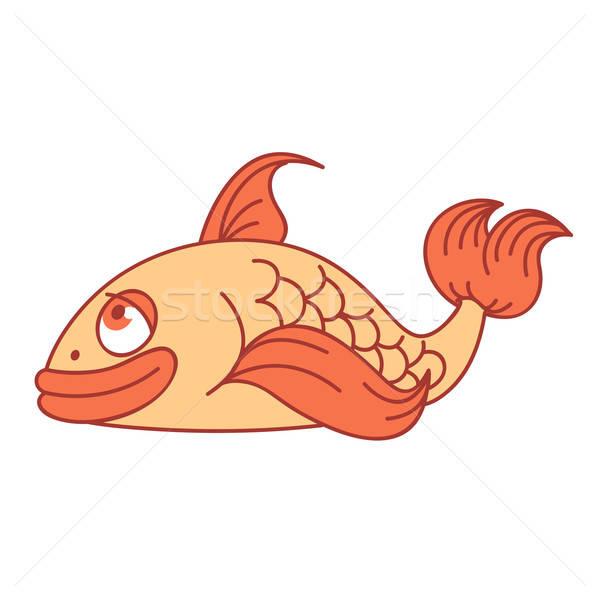 Smiling fish Stock photo © Amplion