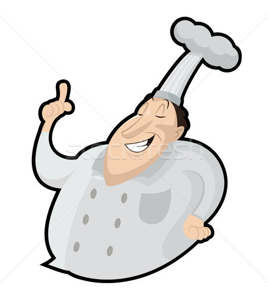 ベクトル 画像 笑みを浮かべて 面白い 漫画 食品 ストックフォト © Amplion