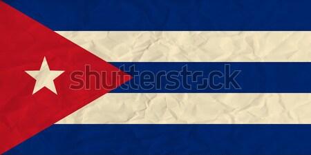 キューバ フラグ ベクトル 画像 デザイン ストックフォト © Amplion
