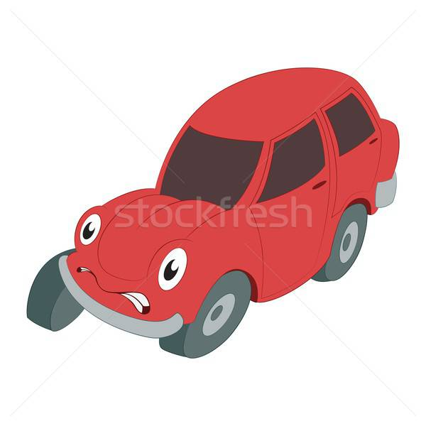 Braking car Stock photo © Amplion