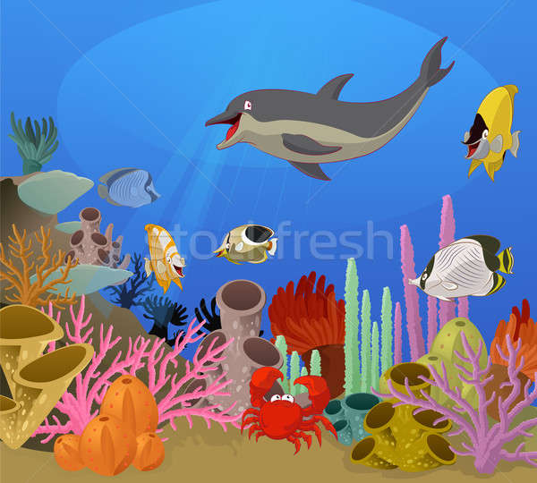 Sea world Stock photo © Amplion