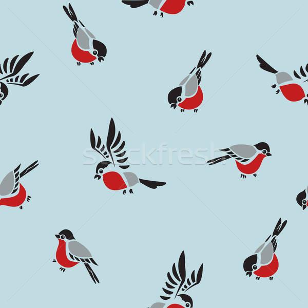 デザイン 芸術 楽しい 鳥 動物 ストックフォト © Amplion