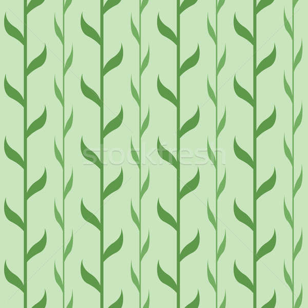 Seamless pattern with green branches Stock photo © Amplion