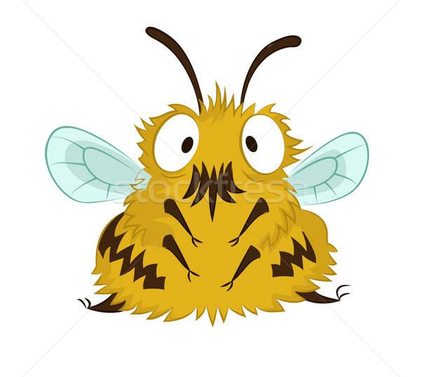 面白い 蜂 ベクトル 画像 ビッグ 漫画 ストックフォト © Amplion
