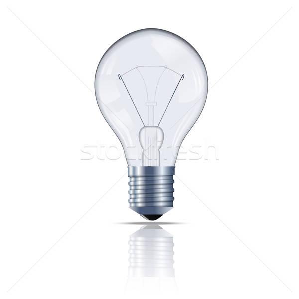 лампа вектора изображение стекла лампы Сток-фото © Amplion