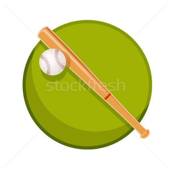 野球 ベクトル 画像 木材 抽象的な デザイン ストックフォト © Amplion