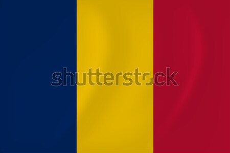 Чад флаг вектора изображение бумаги Сток-фото © Amplion