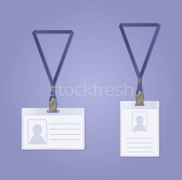 Id Badge Stock photo © Amplion