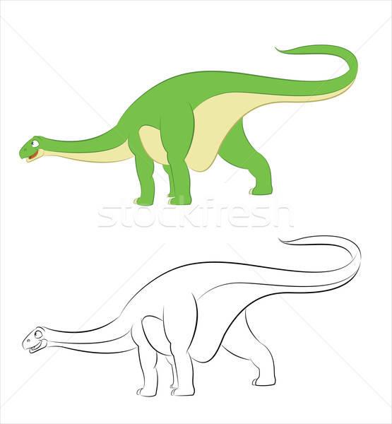 Diplodocus Stock photo © Amplion