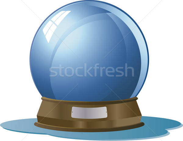 Glas wereldbol decoratief Stockfoto © anaklea