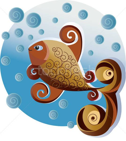 Ornamental fish. Stock photo © anaklea