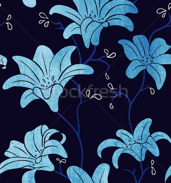 Seamless floral pattern Stock photo © anastasiya_popov
